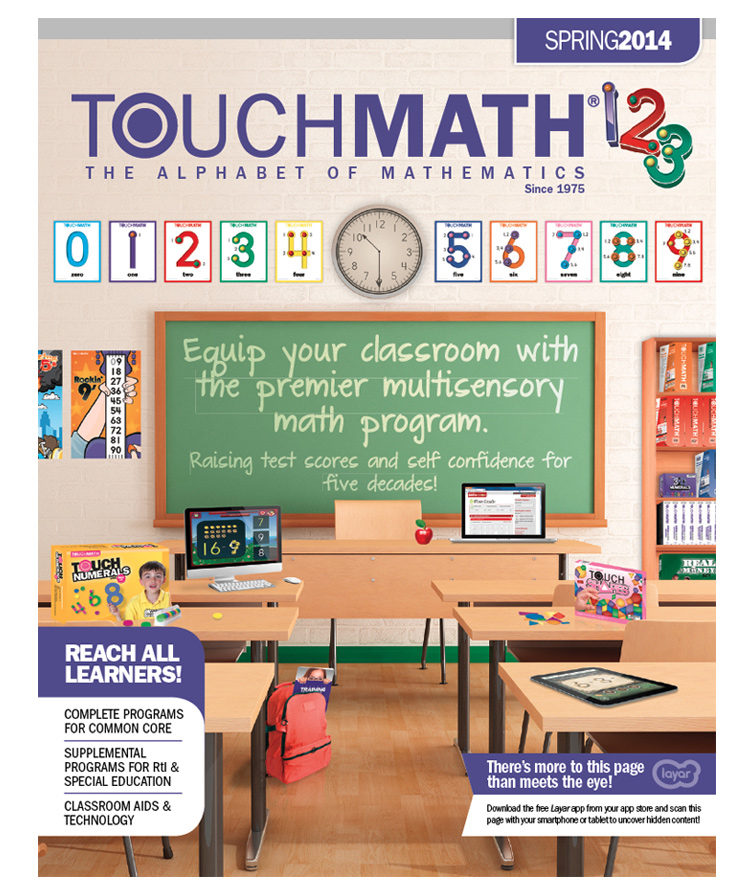 TouchMath Spring 2014 Catalog